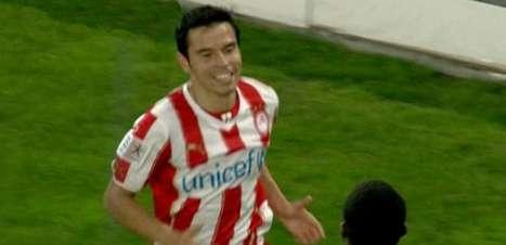 Saviola amplia vantagem do Olympiacos sobre o PAOK