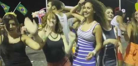 Soldados de Israel dançam o Lepo Lepo em Salvador