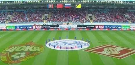 Veja os lances de CSKA 0 x 1 Spartak pelo Campeonato Russo