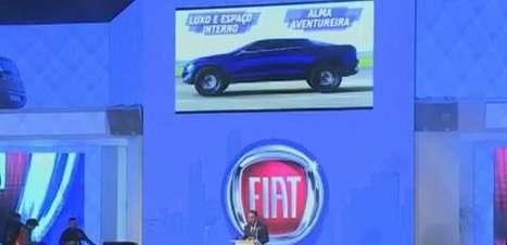 Fiat lança veículo futurista com linhas de picape e sedan