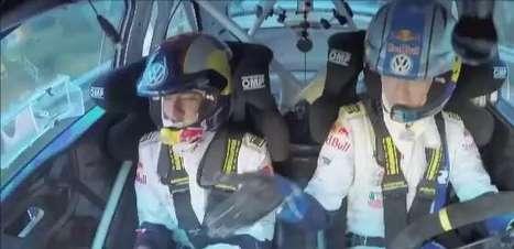 Ousado! Neymar se arrisca como copiloto de carro de rali