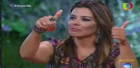 """Ela fez xixi na piscina"", diz Rebeca ao votar em Mara"