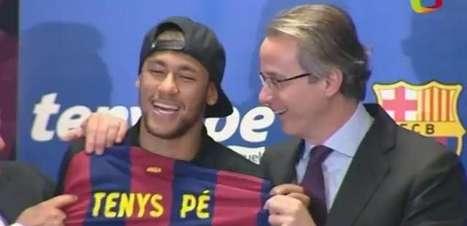 Site divulga salário e cláusulas do contrato de Neymar