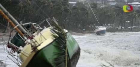 Austrália avalia danos após passagem do ciclone Debbie