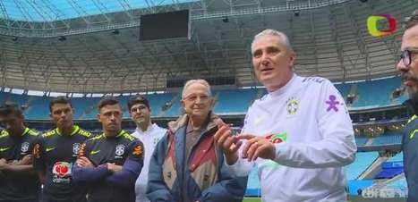 Seleção Brasileira acerta detalhes para pegar o Equador