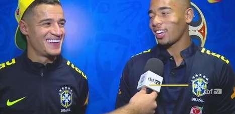 Philippe Coutinho e Gabriel Jesus explicam golaço