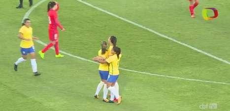 Seleção feminina bate Chile por 3 x 0 em amistoso