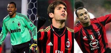 Confira os brasileiros que atuaram pelo Milan