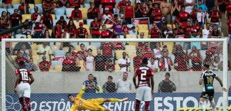 Veja os melhores momentos da vitória do Flamengo sobre o Santos