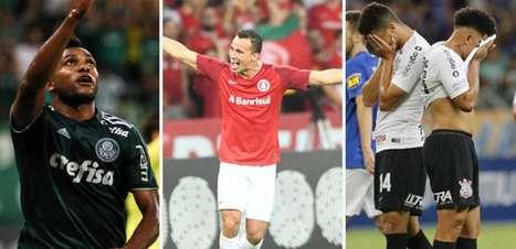 Classificação do returno tem Palmeiras na ponta e Corinthians no Z4