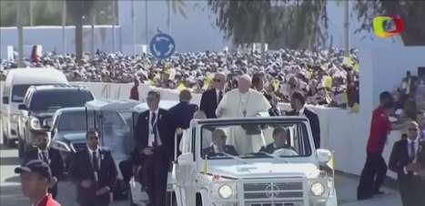 Papa celebra 1ª missa na Península Arábica