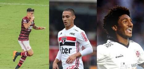 As revelações desta edição do Campeonato Brasileiro