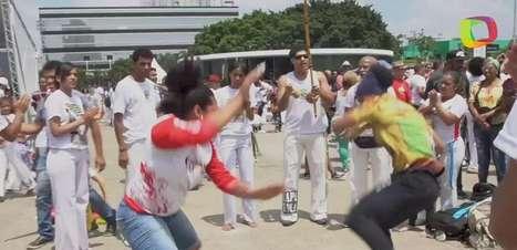 Mulheres que desafiam o machismo em rodas de capoeira
