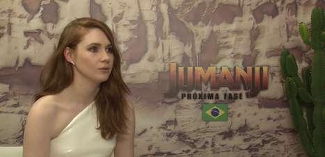 Entrevista Jumanji: Karen Gillan