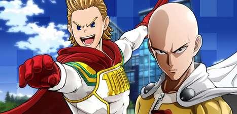 One Piece, My Hero Academia e os próximos games de animes
