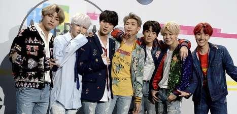 Após recordes, BTS é eleito artista do ano pela 'Time'