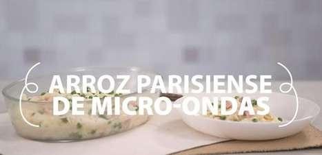 Arroz parisiense de micro-ondas