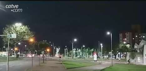 Vídeo: relâmpagos são registrados em Cascavel