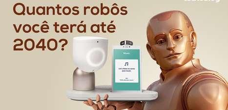Quantos robôs você terá até 2040?