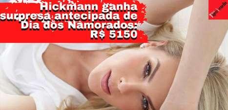 Ana Hickmann ganha surpresa de Dia dos Namorados: R$ 5150