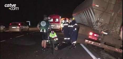 Homem morre atropelado na BR 277 em Cascavel
