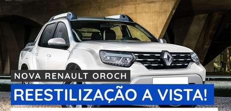 Nova Renault Oroch: reestilização à vista!