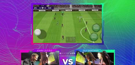 Extra Life: Gui Santana e John Leitão jogam PES 2021