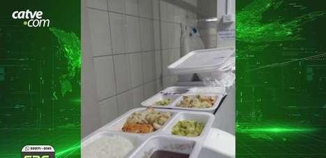 Funcionários do Hospital de Retaguarda se queixam de marmitas estragadas