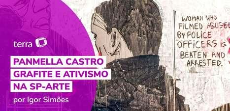 Panmella Castro: grafite e ativismo na SP-Arte