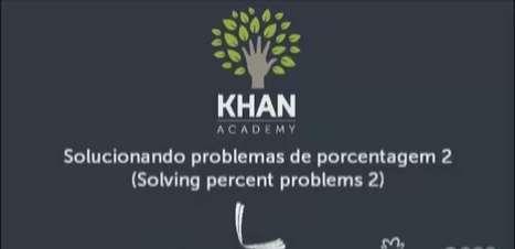Solucionando problemas de porcentagem 2