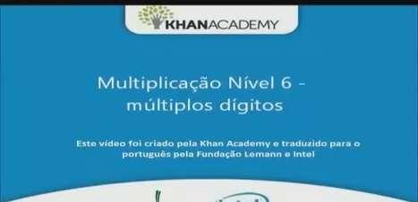 Multiplicação Nível 6 - múltiplos dígitos