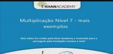 Multiplicação Nível 7 - mais exemplos