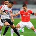 São Paulo e Internacional empatam por 1 a 1 no Beira-Rio
