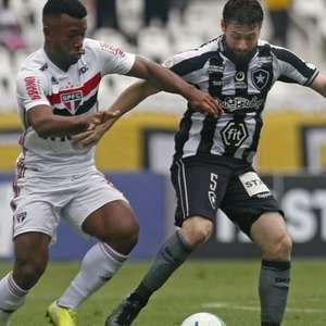 Pablo decide nos acréscimos e São Paulo vence o Botafogo