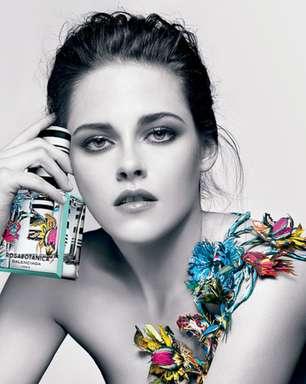 De topless, Kristen Stewart posa para campanha de perfume