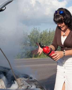 Veja os cuidados com o extintor de incêndio do carro
