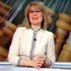 María Rey hace su primer chiste en directo a lo Matías Prats