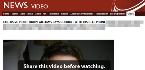 Vídeo de Robin Williams é novo golpe de hackers no Facebook