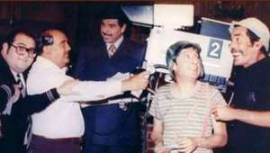 Emissora divulga fotos raras dos bastidores de 'Chaves'