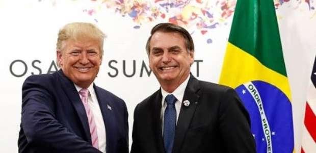Bolsonaro teria aceitado jantar com Trump por 'afagos'