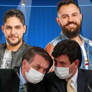 Jorge e Mateus são pivôs da ira de Bolsonaro contra Mandetta