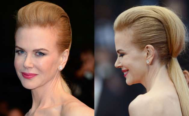 De rabo bizarro a coque clássico: veja os penteados de Cannes