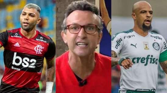 Flamengo ou Palmeiras? Neto crava campeão da Libertadores:
