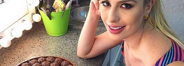 Com 10 kg a menos, Fernanda Keulla conta como mantém a forma