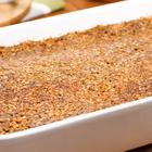 Torta de maçã crocante fit: veja esse doce leve e saboroso
