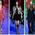 Elie Saab, con flores y líneas para moda primaveral en París