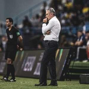 Tite afirma que irá refletir após a derrota para a Argentina