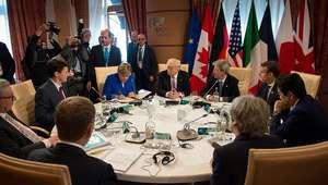 Estados Unidos impedem acordo sobre mudança climática no G7
