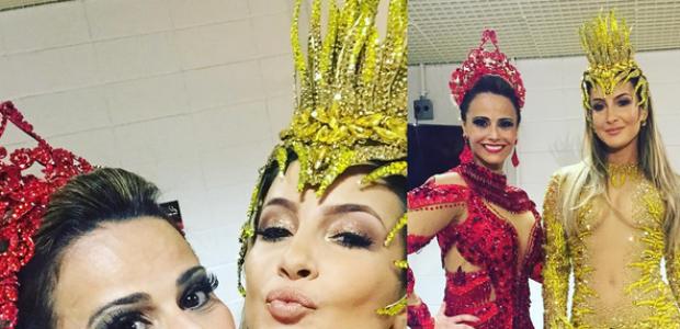 Vivi Araújo posta foto com Claudia Leitte e 'causa' no Insta