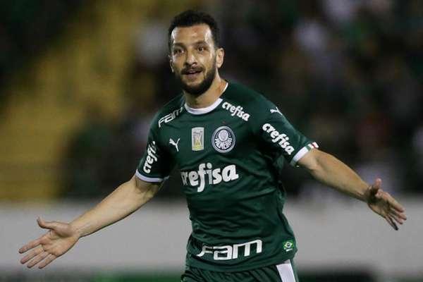 Zagueiro Edu Dracena fechou a temporada de 2019 no Palmeiras (Agência Palmeiras/Divulgação)